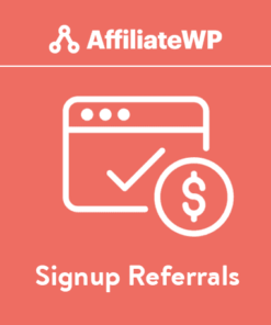 Signup Referrals - AffiliateWP