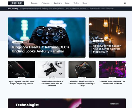 Technologist - The Theme for a Modern Technology Website - MyThemeShop